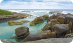 Nullarbor Tours - Elephant rocks - Albany