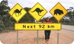 Nullarbor Tours - outback sign